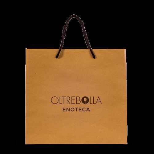 sacchetto personalizzato per enoteca