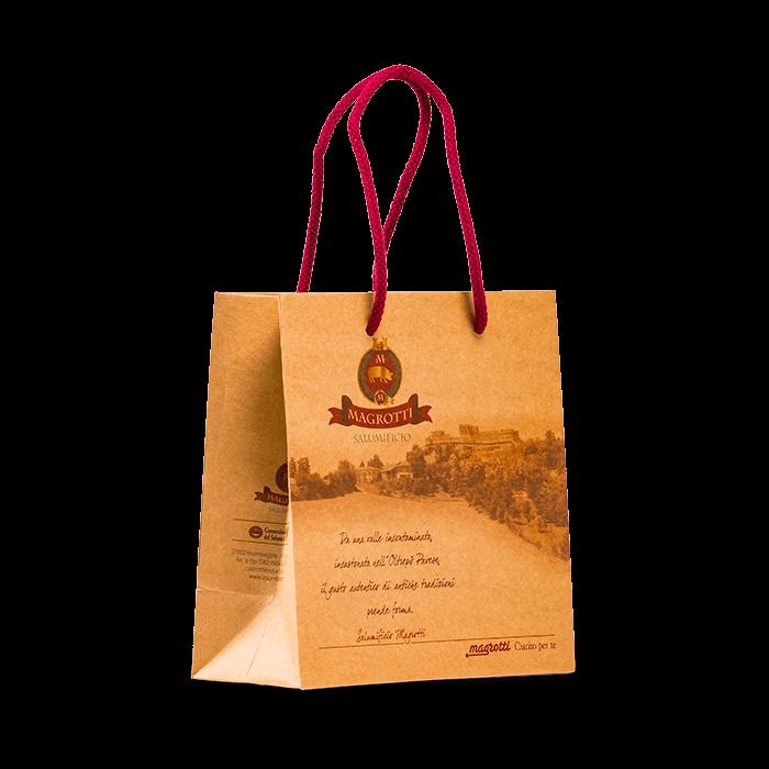 sacchetto personalizzato per alimentari