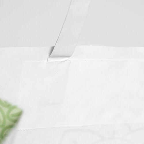 sacchetti personalizzati bianchi con maniglia piatta