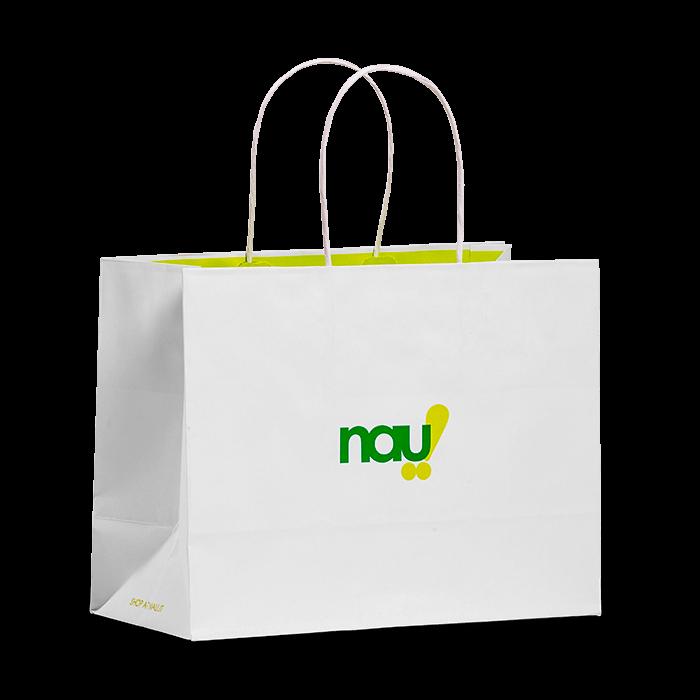 sacchetti personalizzabili bianchi