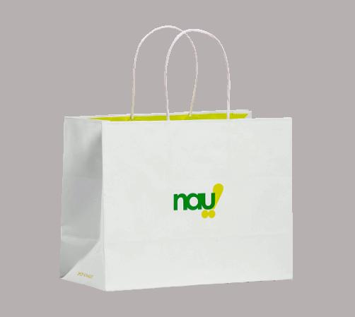 sacchetti in carta con stampa personalizzata