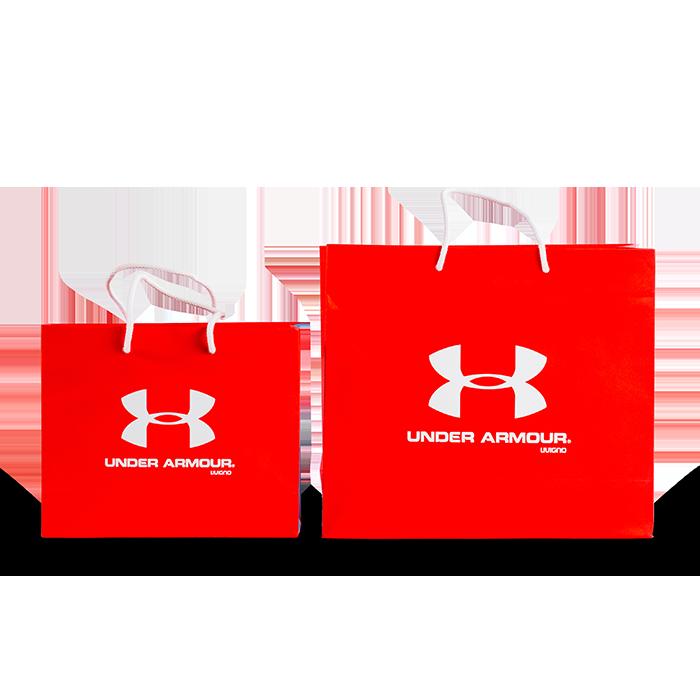 sacchetto personalizzato colorato per negozio