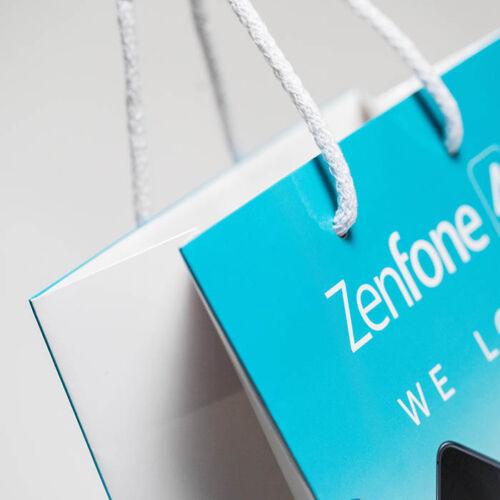 sacchetto personalizzabile plastificato