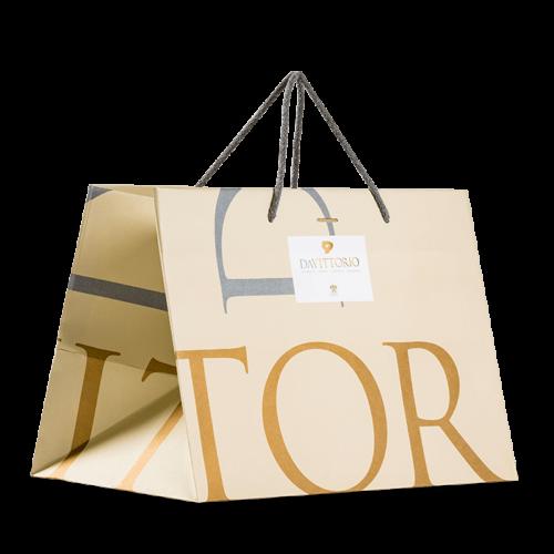 sacchetto personalizzato naturale colorato