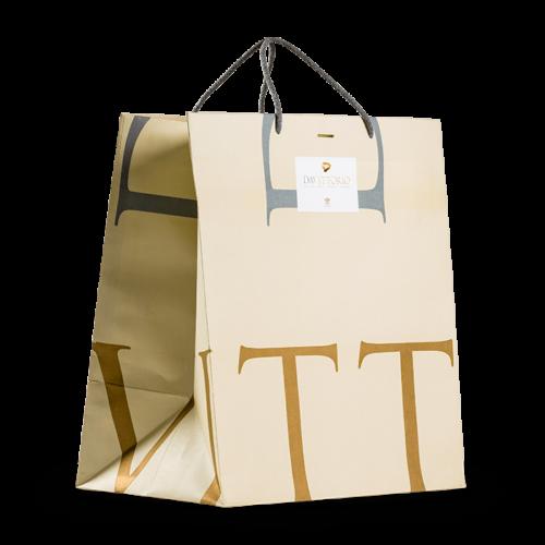 sacchetto di carta personalizzabile