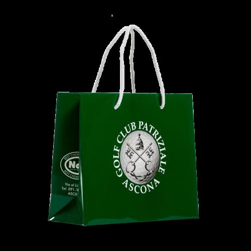 borsa personalizzata plastificata per golf club