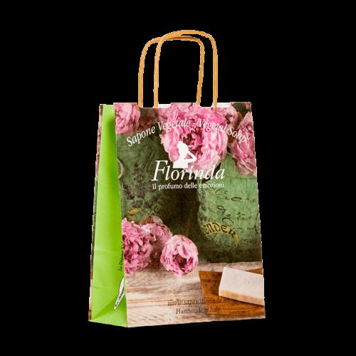 sacchetto personalizzabile con maniglia