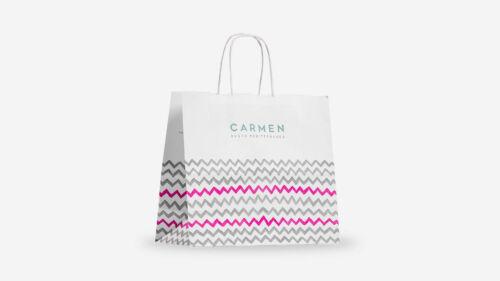 sacchetti di carta personalizzati per gelati