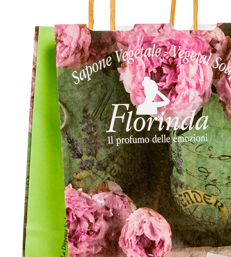 sacchetti di carta colorati personalizzati
