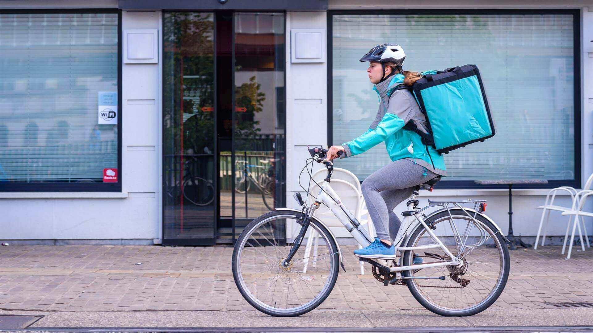 deliver biker