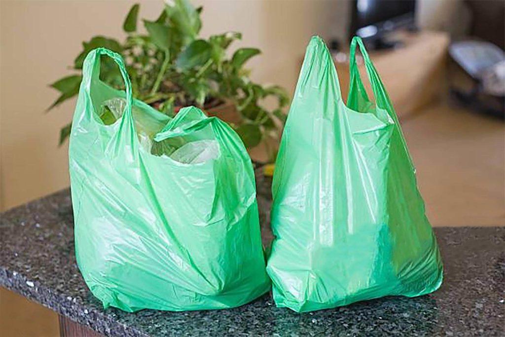 sacchetti plastica verdi