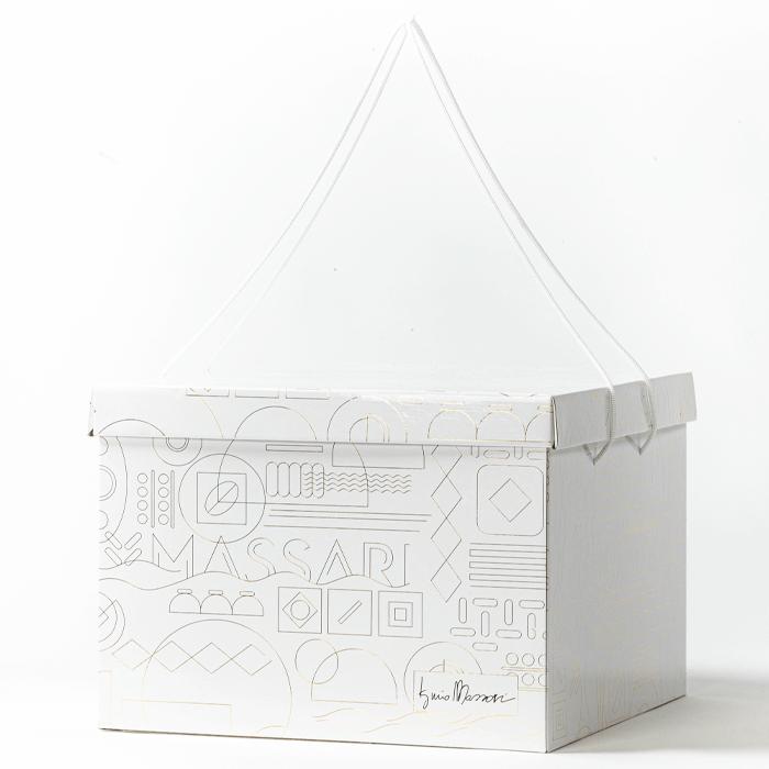 scatola corpo + coperchio Iginio Massari